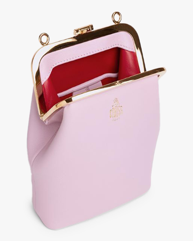 Mark Cross Susanna Crossbody Leather Frame Pouch Bag 3