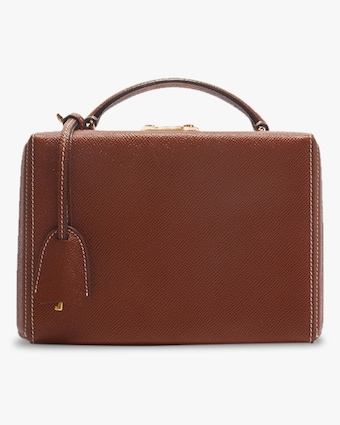 Mark Cross Grace Small Saffiano Leather Box Bag 1