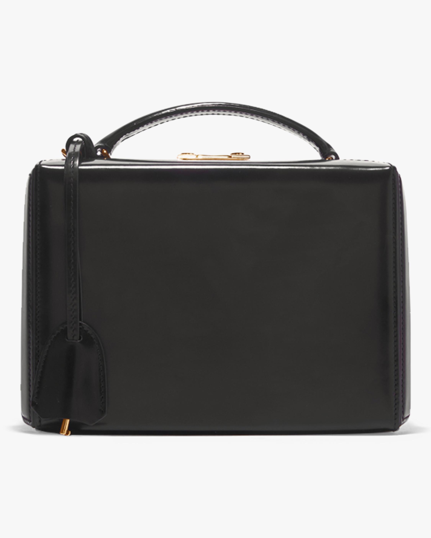 Mark Cross Grace Small Dover Leather Box Bag 1