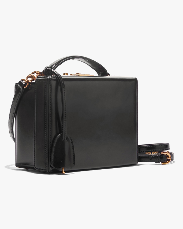 Mark Cross Grace Small Dover Leather Box Bag 2
