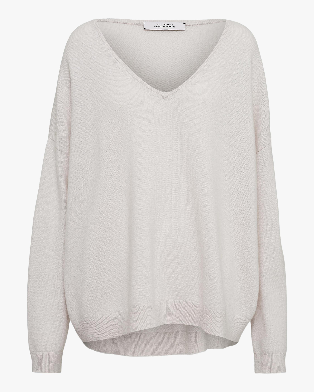 Dorothee Schumacher Soft Edge V-Neck Sweater 0
