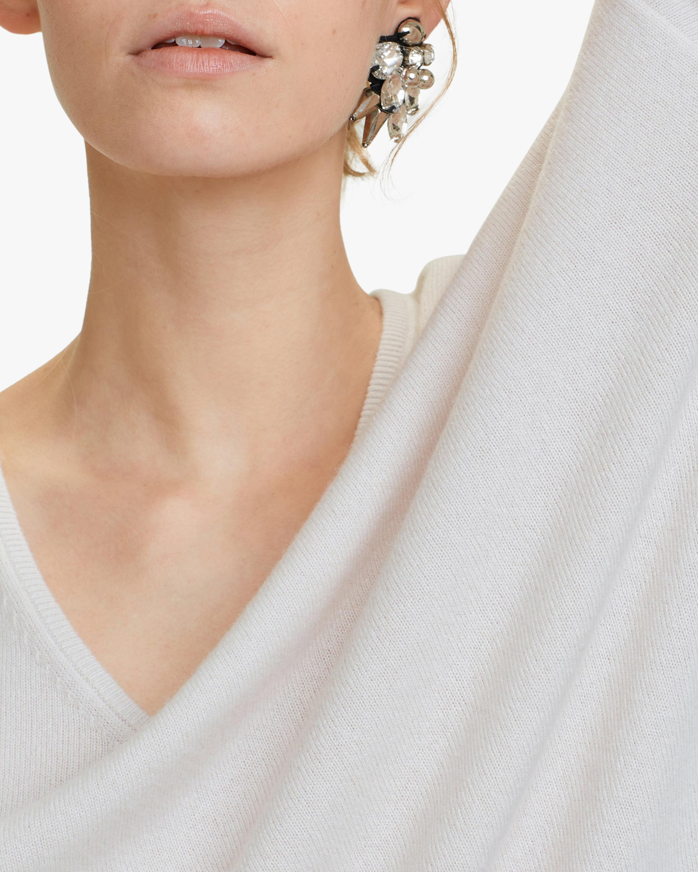 Dorothee Schumacher Soft Edge V-Neck Sweater 3