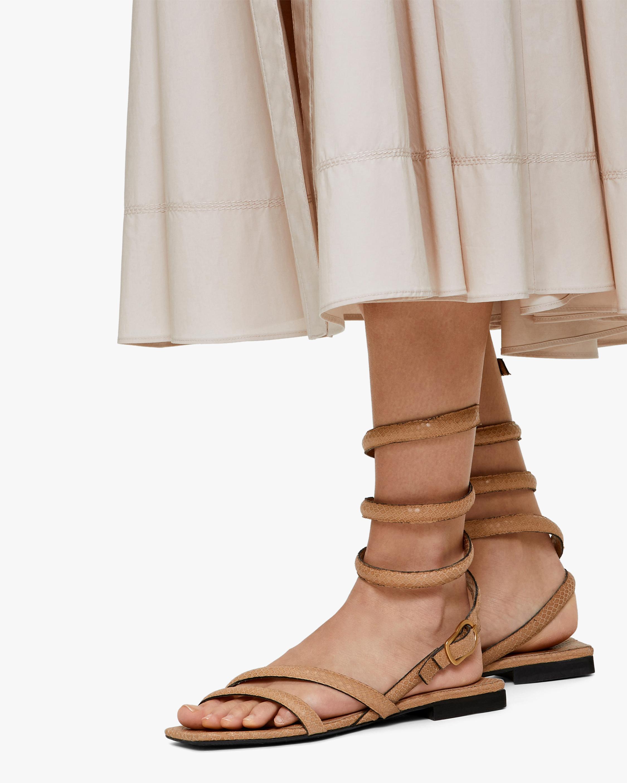 Dorothee Schumacher Desert Vibes Wrap Sandal 5