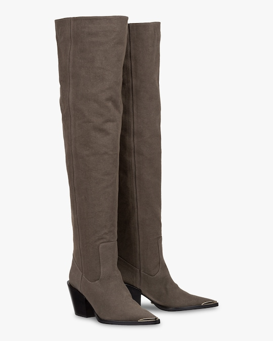 Dorothee Schumacher Canvas Ambition Boot 0