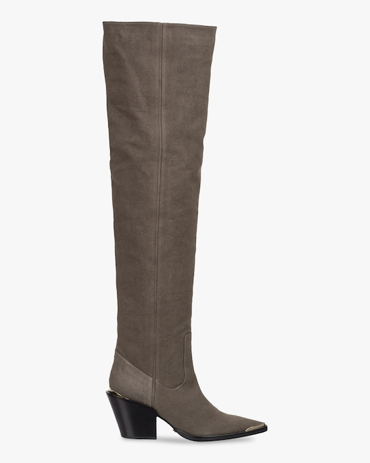 Dorothee Schumacher Canvas Ambition Boot 1