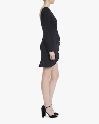 One33 Social Front-Knot Pleated Cocktail Dress 2