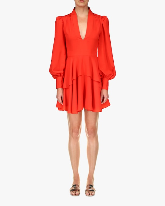 One33 Social Bishop-Sleeve Cocktail Dress 0