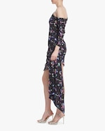 One33 Social Floral One-Shoulder Cocktail Dress 1
