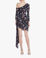One33 Social Floral One-Shoulder Cocktail Dress 2