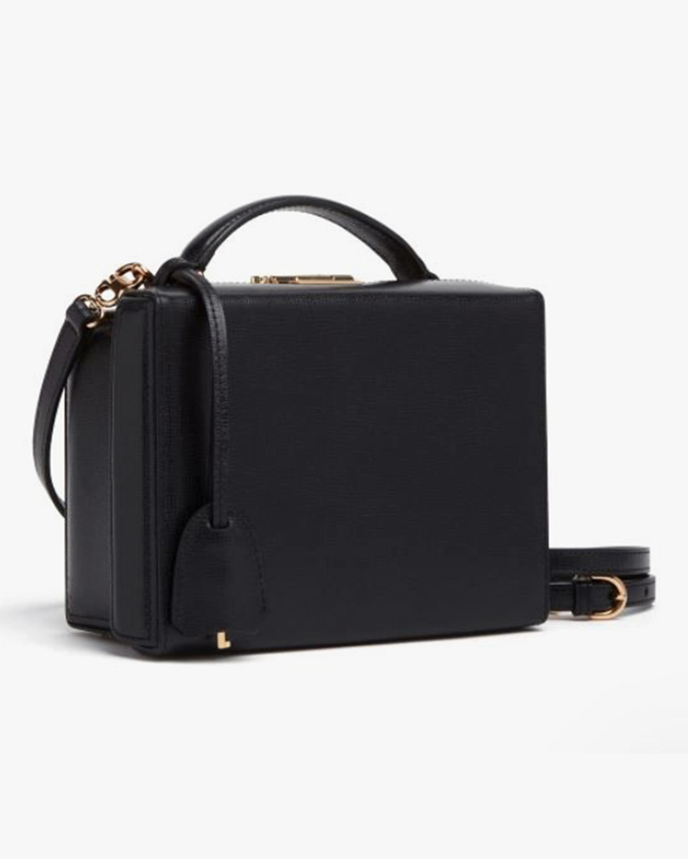 Mark Cross Grace Small Saffiano Leather Box Bag 1