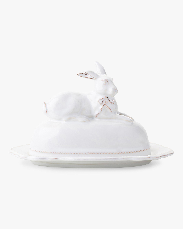 Juliska Bridget Bunny Butter Dish 1