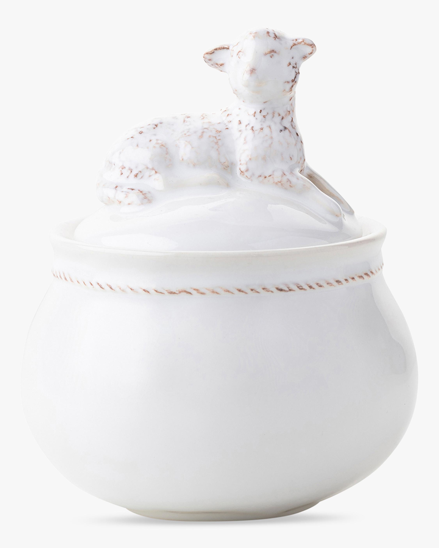 Juliska Henri Lamb Lidded Jar 1