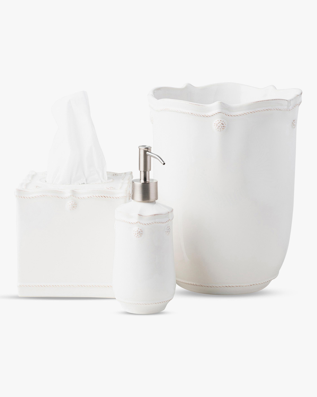 Juliska Berry & Thread Whitewash Three-Piece Bath Essentials Set 0
