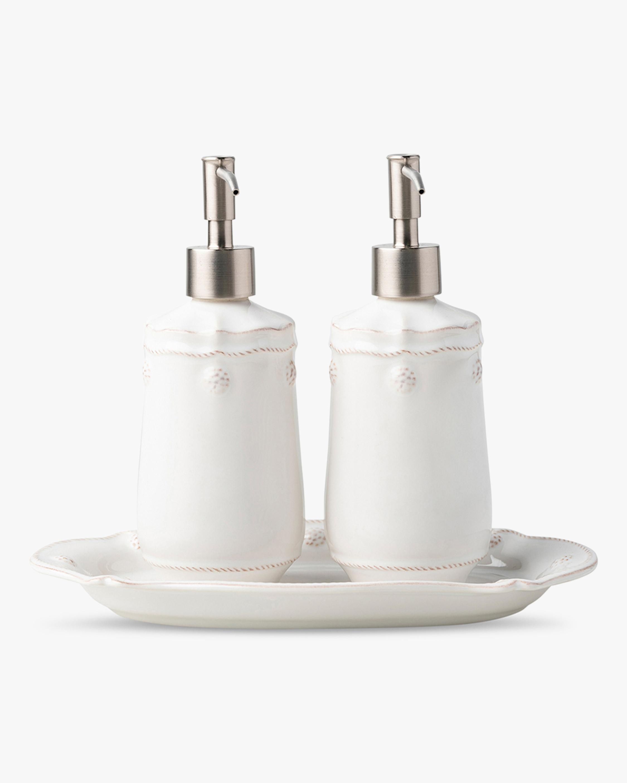 Juliska Berry & Thread Whitewash Three-Piece Kitchen Essentials Set 0