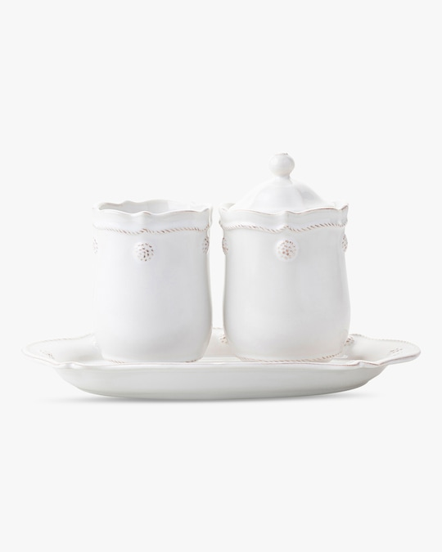 Juliska Berry & Thread Whitewash Lidded Jar 1