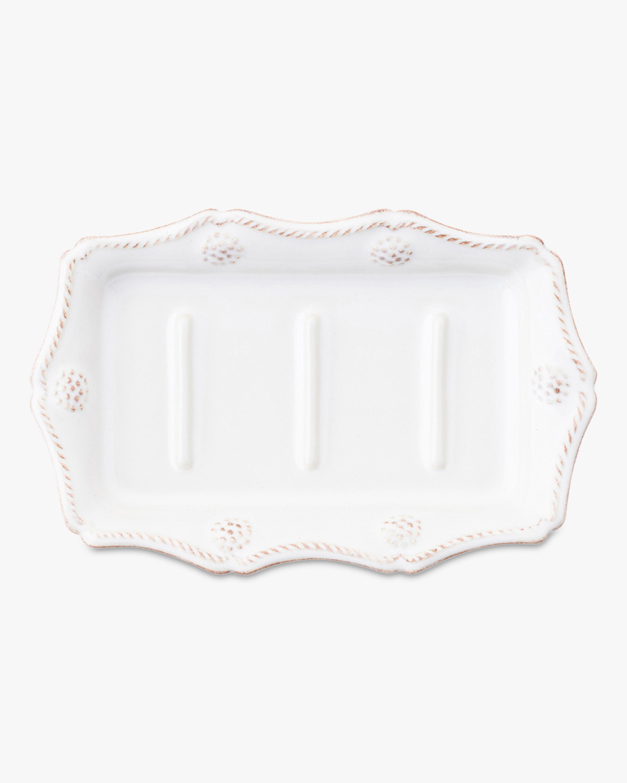 Juliska Berry & Thread Whitewash Soap Dish 0