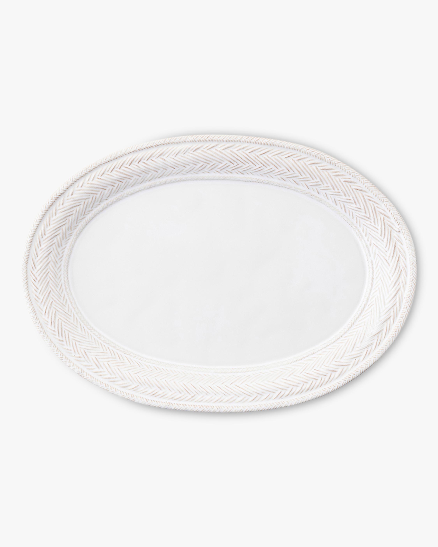 Juliska Le Panier Whitewash Platter 2