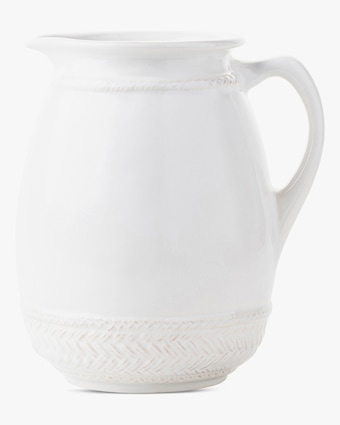 Juliska Le Panier Whitewash Pitcher 1