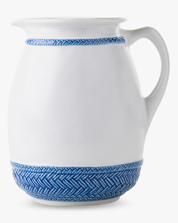 Juliska Le Panier Delft Blue Pitcher 1