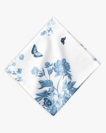 Juliska Field of Flowers Chambray Napkin 1