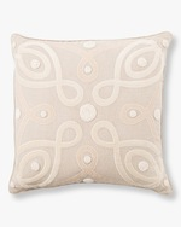 Juliska Berry & Thread Natural Throw Pillow - 22in 0