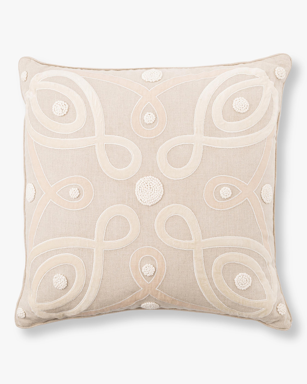 Juliska Berry & Thread Natural Throw Pillow - 22in 1
