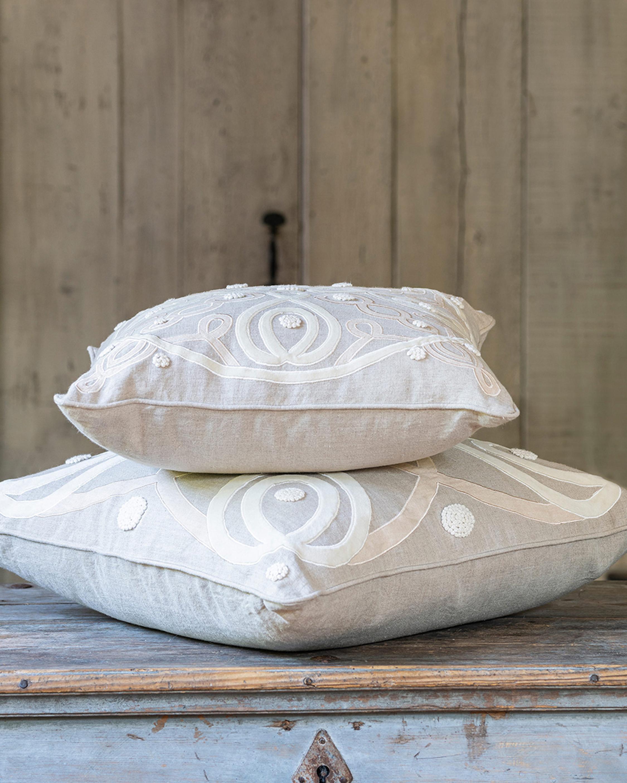Juliska Berry & Thread Natural Throw Pillow - 22in 2