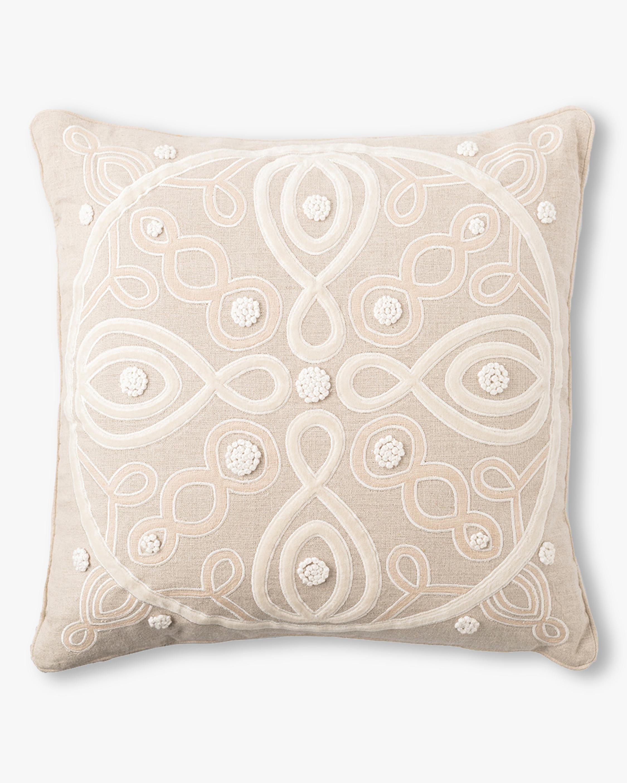 Juliska Berry & Thread Natural Throw Pillow - 18in 0