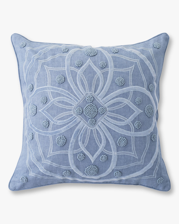 Juliska Berry & Thread Chambray Throw Pillow - 22in 0