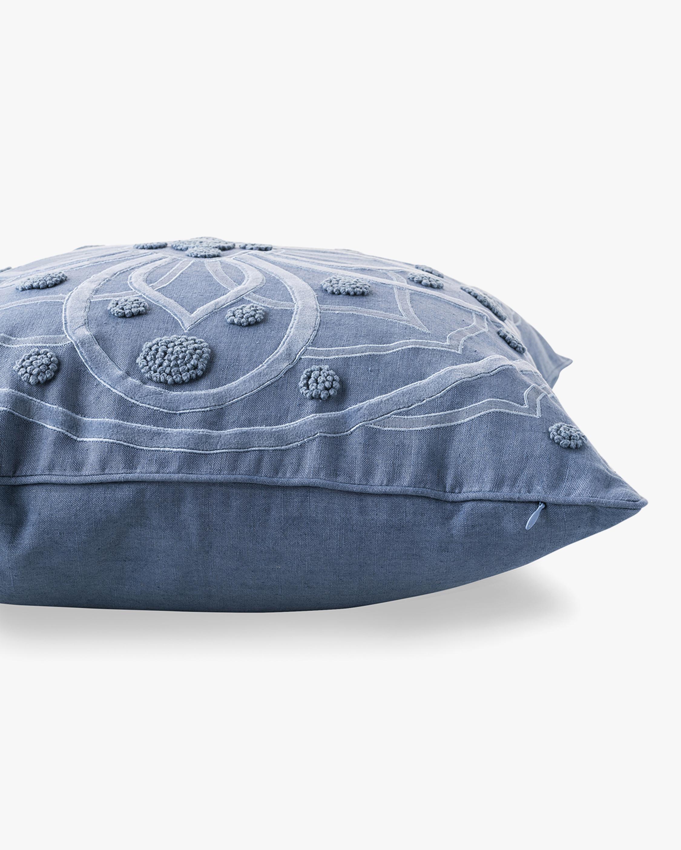 Juliska Berry & Thread Chambray Throw Pillow - 22in 1