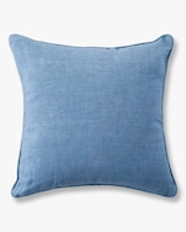 Juliska Berry & Thread Chambray Throw Pillow - 18in 2