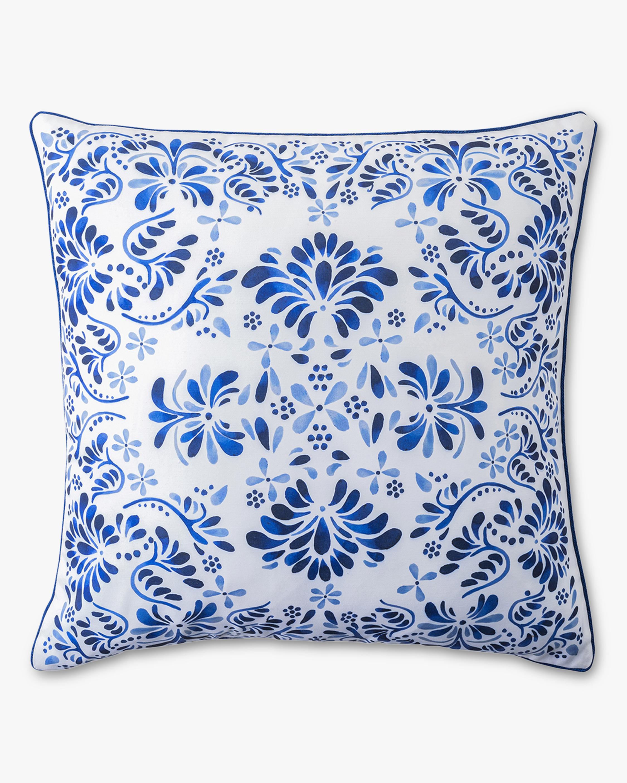 Juliska Iberian Journey Indigo Throw Pillow 1