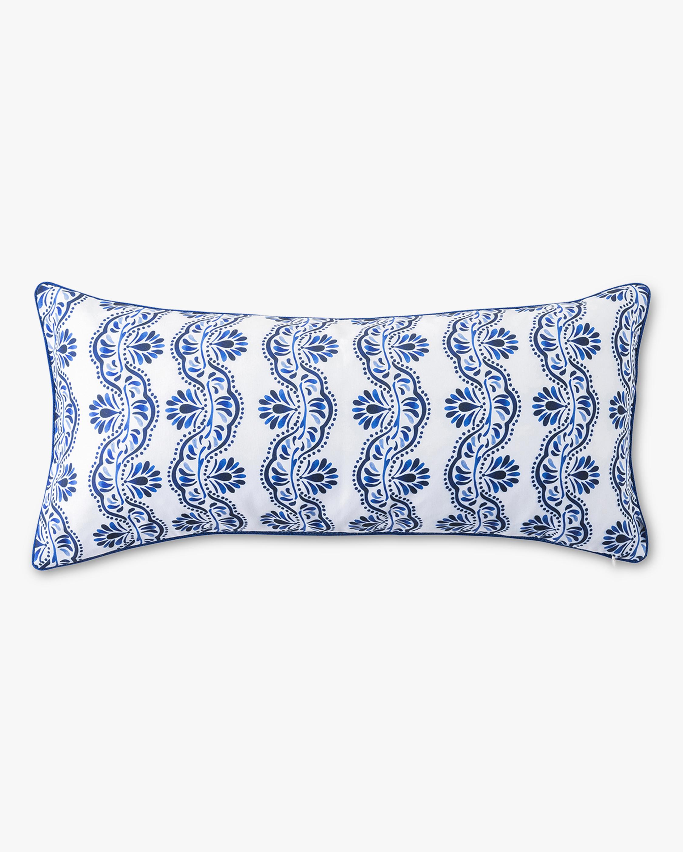 Juliska Iberian Journey Indigo Lumbar Pillow 1
