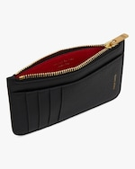 Mansur Gavriel Black Flamma Zip Card Holder 3