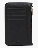 Mansur Gavriel Black Flamma Zip Card Holder 4