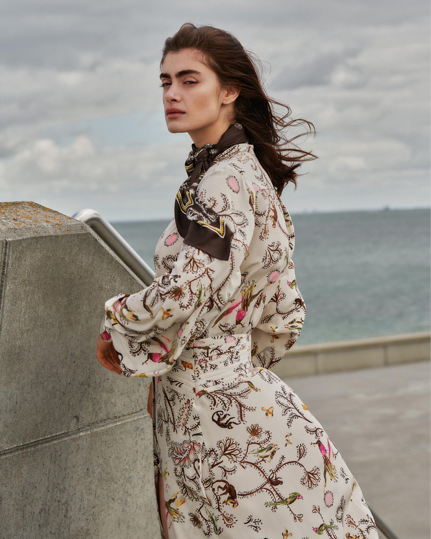 Dorothee Schumacher Tree of Life Maxi Dress 4