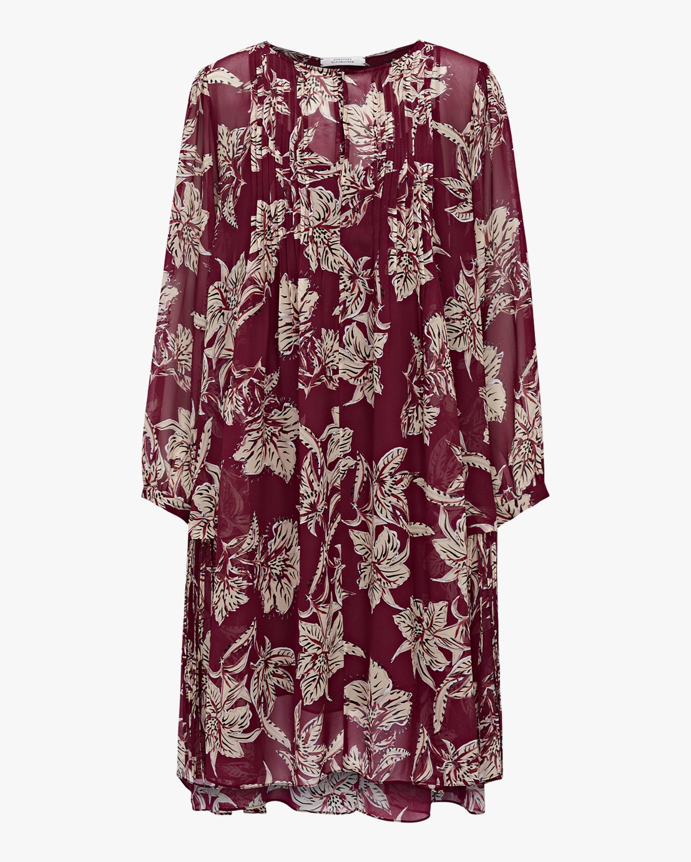 Dorothee Schumacher Translucent Florals Dress 0