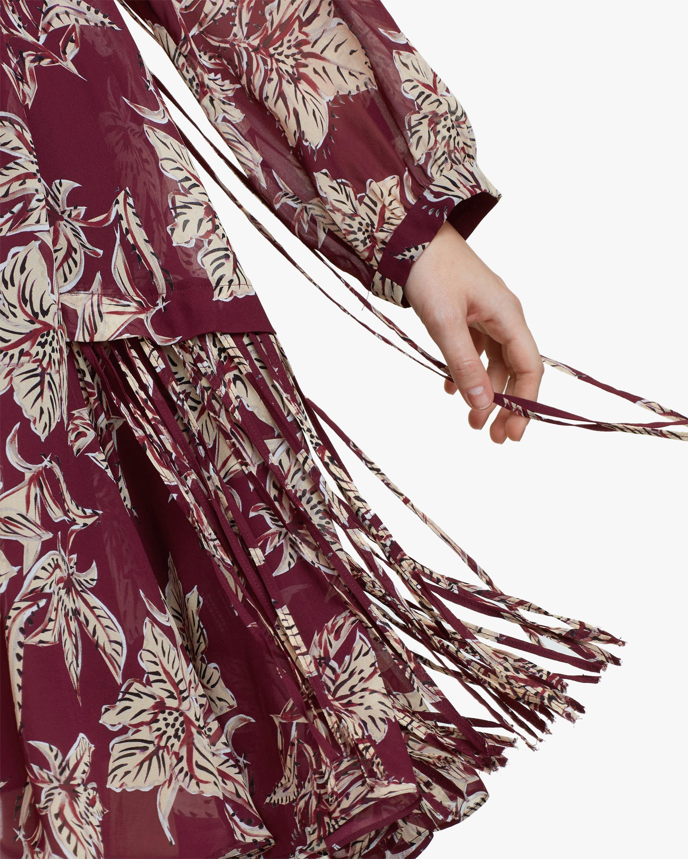 Dorothee Schumacher Translucent Florals Dress 4