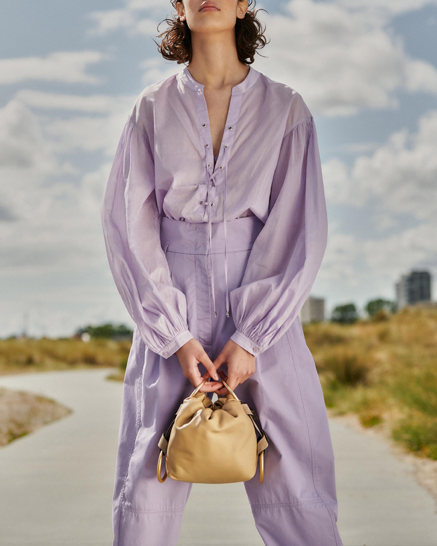 Dorothee Schumacher Transparent Fantasy Pullover Blouse 5