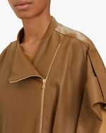 Dorothee Schumacher Exciting Coolness Leather Coat 3