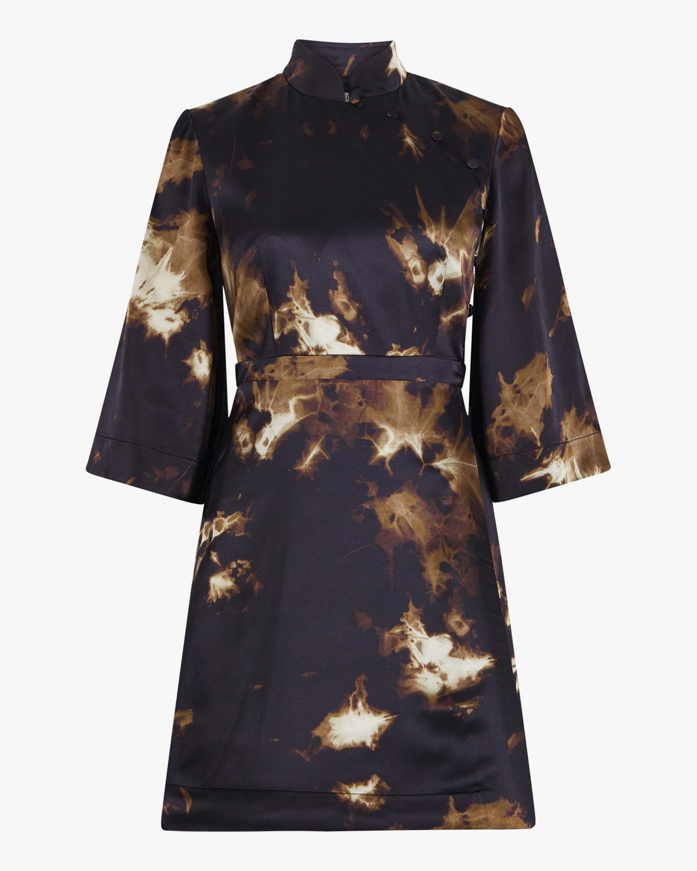 ALEXACHUNG Kimono Wrap Dress 2