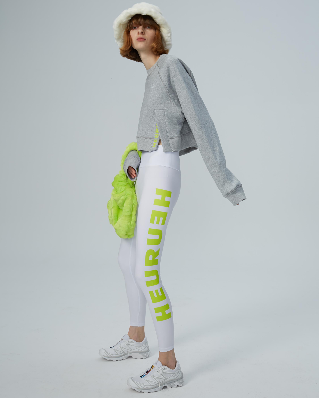 HEURUEH Side-Slit Sweatshirt 2
