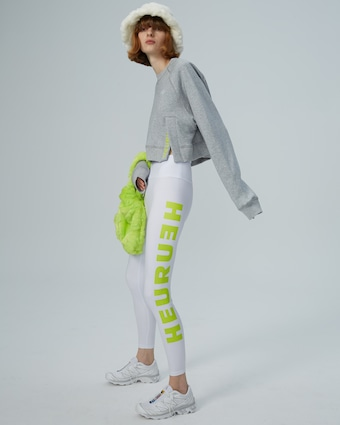 HEURUEH Side-Slit Sweatshirt 2