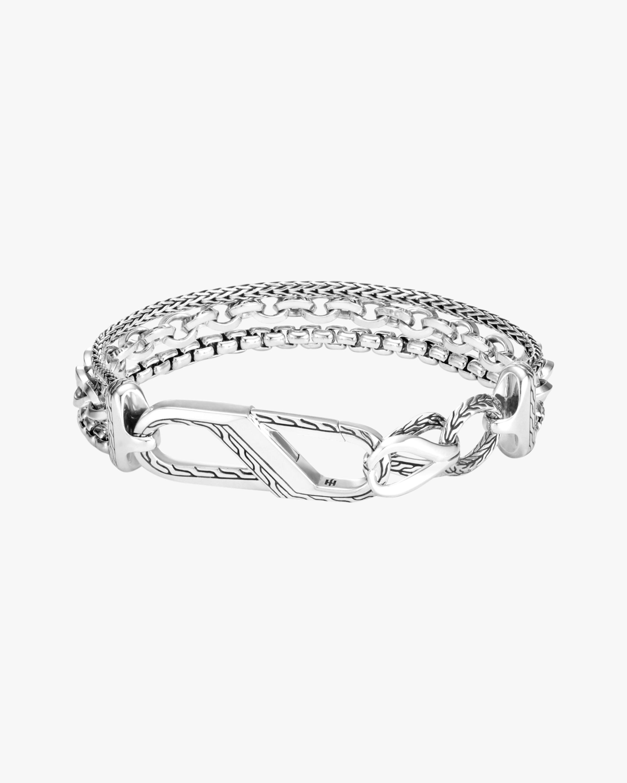 Classic Chain Asli Triple-Row Bracelet