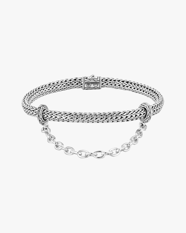John Hardy Classic Convertible Chain Silver Bracelet 1
