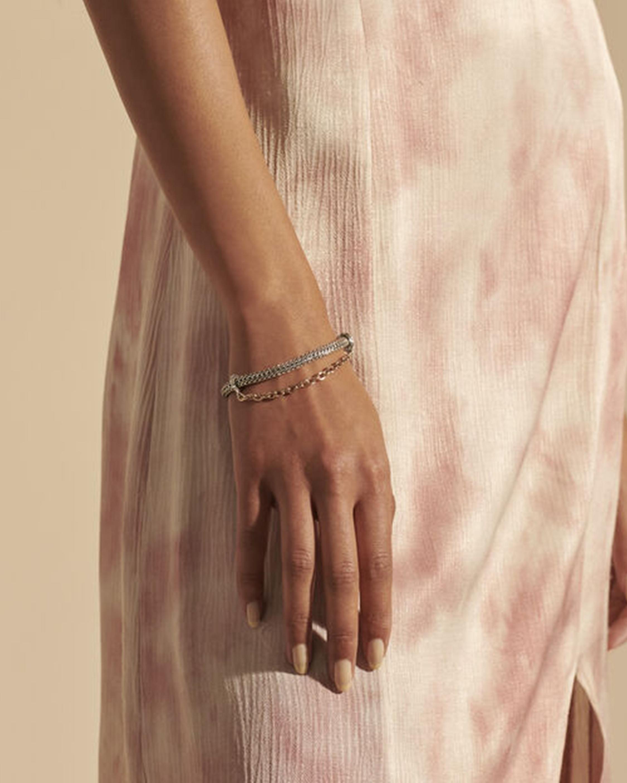 John Hardy Classic Convertible Chain Silver Bracelet 2