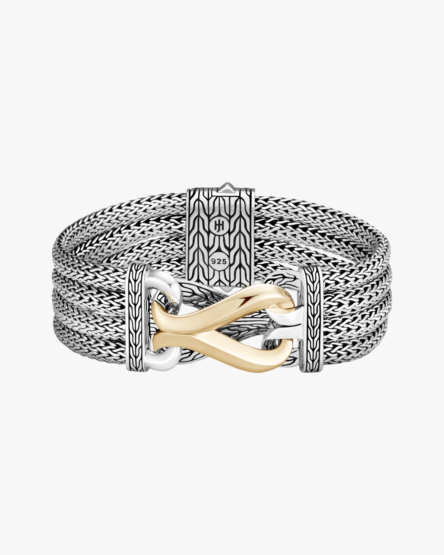 John Hardy Classic Chain Link Multi-Row Bracelet 2