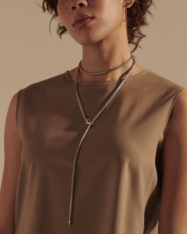 John Hardy Classic Chain Asli Chain Lariat Necklace 1