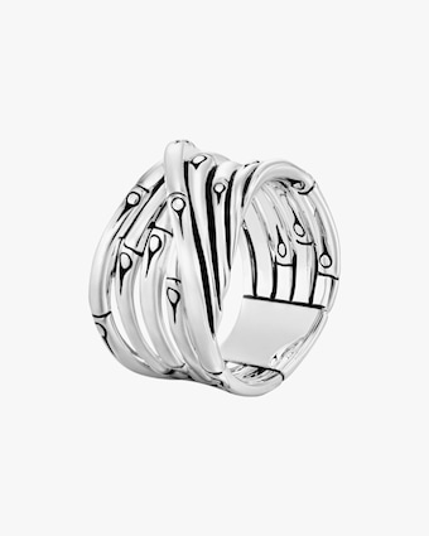 John Hardy Bamboo Silver Ring 1