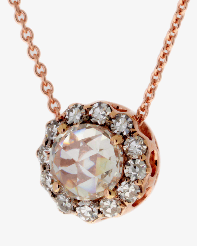 Selim Mouzannar Pavé Diamond Pendant Necklace 1